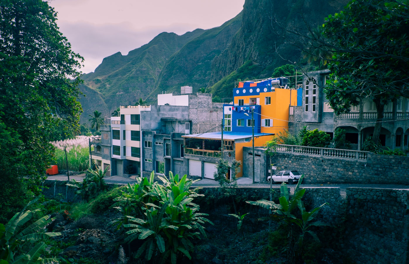 Pául på Santo Antão i Kap Verde.