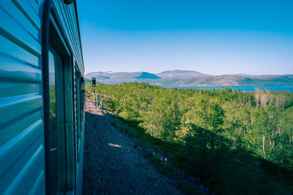 Tåg till Abisko