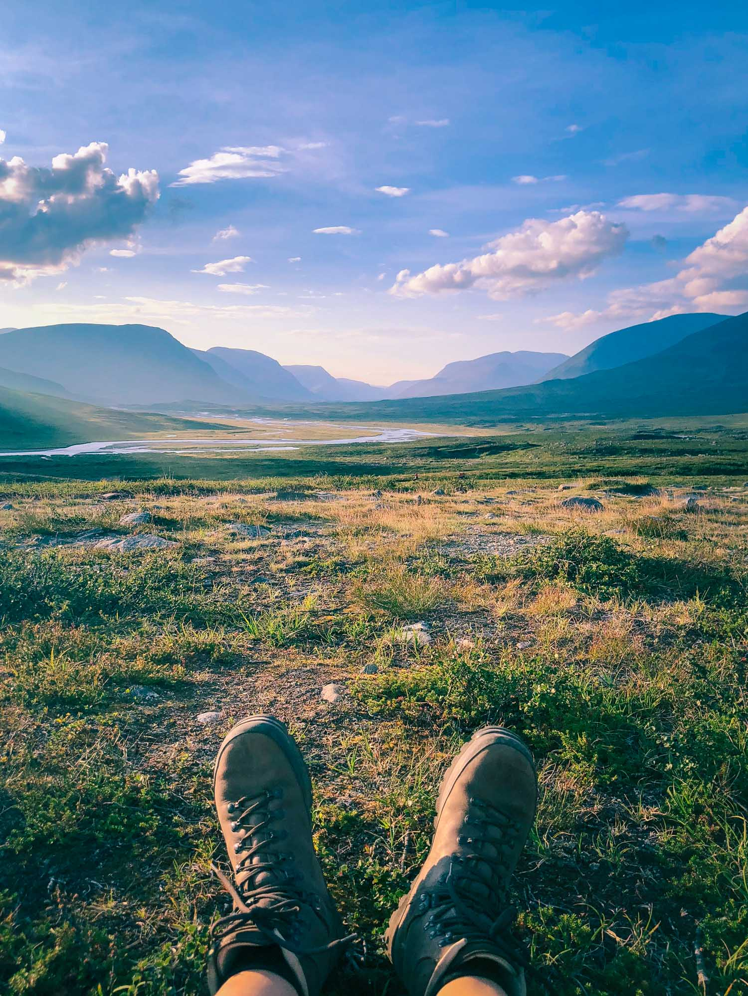 Fjällvandring packning – Kungsleden från Abisko till Nikkaluokta