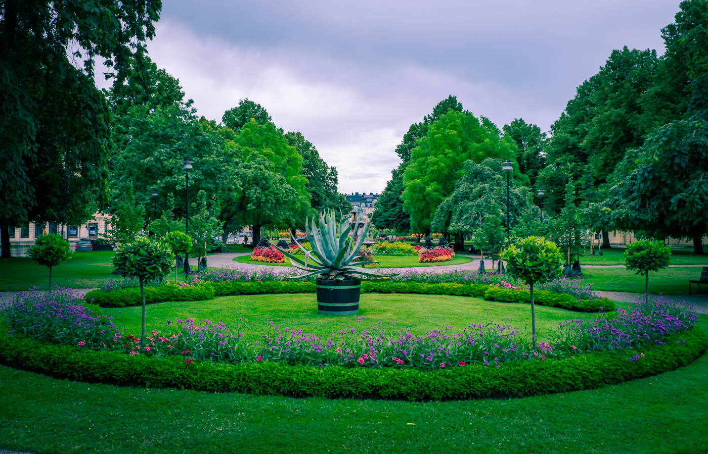 Carl Johans Park Norrköping weekend