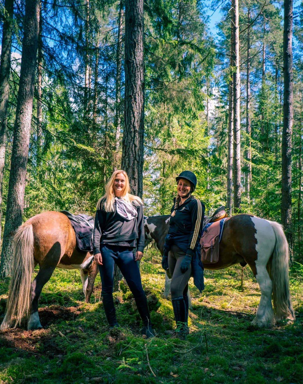 På ridtur i Södermanland – längs med Ridled Sörmland