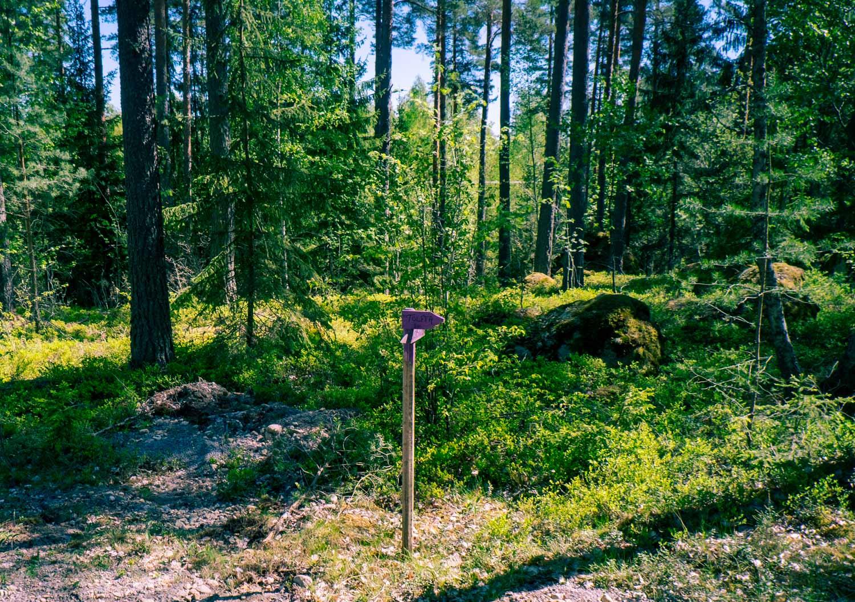 Ridled Sörmland är väl utmärkt så du kan rida på din egna turridning