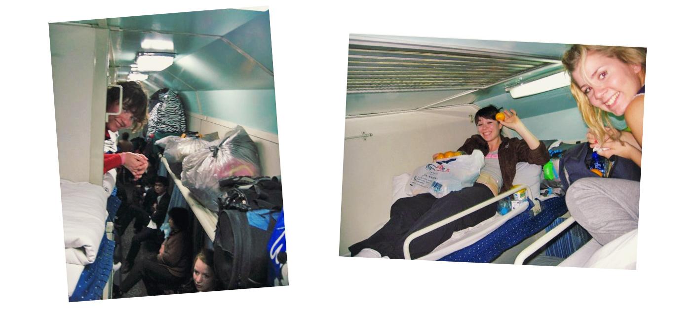Tåg till Hongkong genom Kina