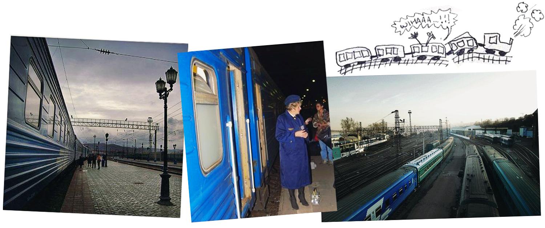 Tåg till Hongkong med hjälp av Transsibiriska järnvägen