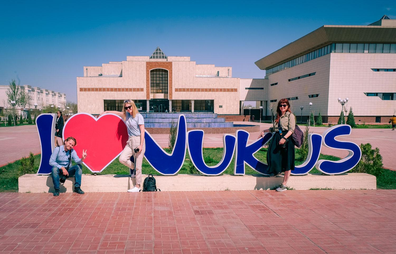Nukus i Uzbekistan