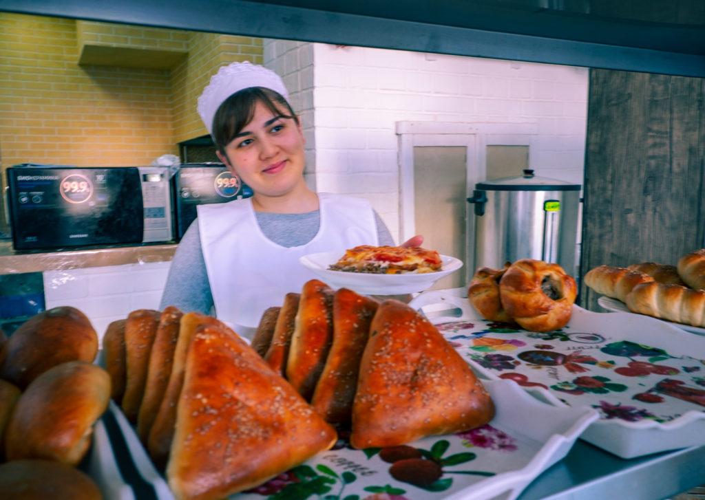 Restaurang i Tasjkent