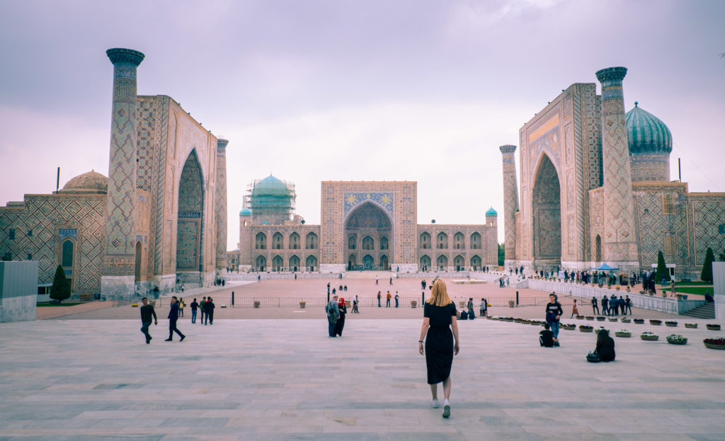 Registan i Samarkand, Uzbekistan.