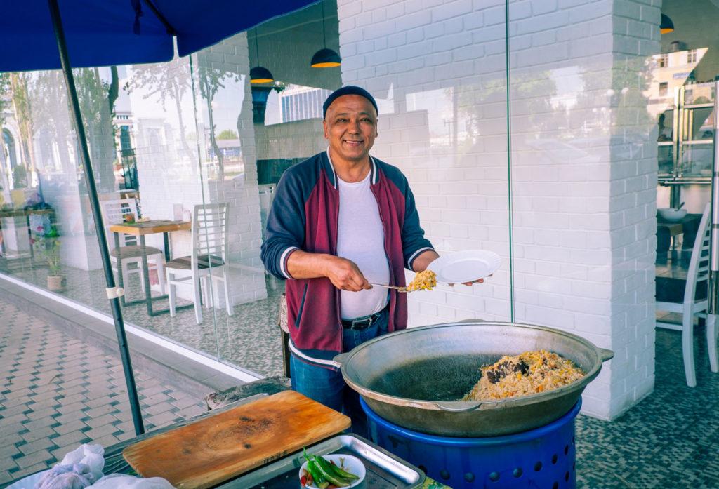Mat i Tasjkent – Uzbekistans huvudstad