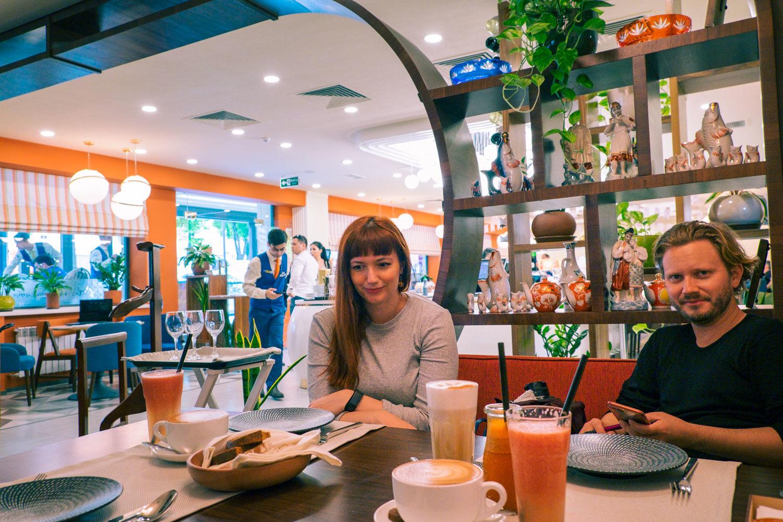Retro-restaurang i Tasjkent