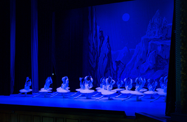 La Bayadère i Tasjkent - balettprimär