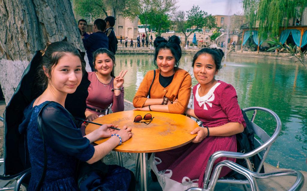 Labi-hauz i Buchara i Uzbekistan
