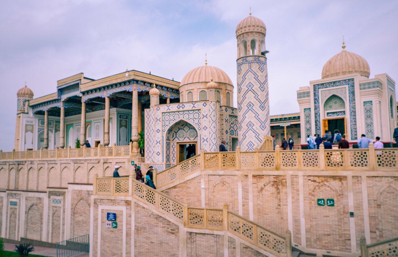Hazrat khizr i Samarkand i Uzbekistan