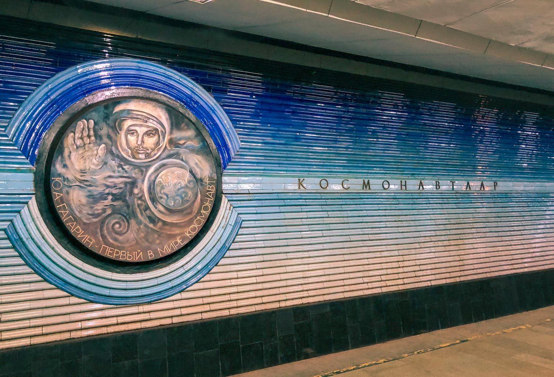 Tunnelbanan i Tasjkent i Uzbekistan
