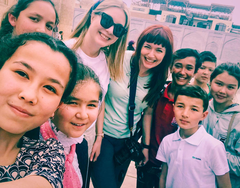 Hälsning från Buchara i Uzbekistan
